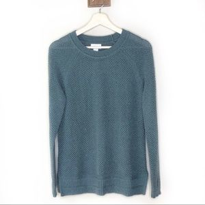 Old Navy teal Crewneck pullover sweater